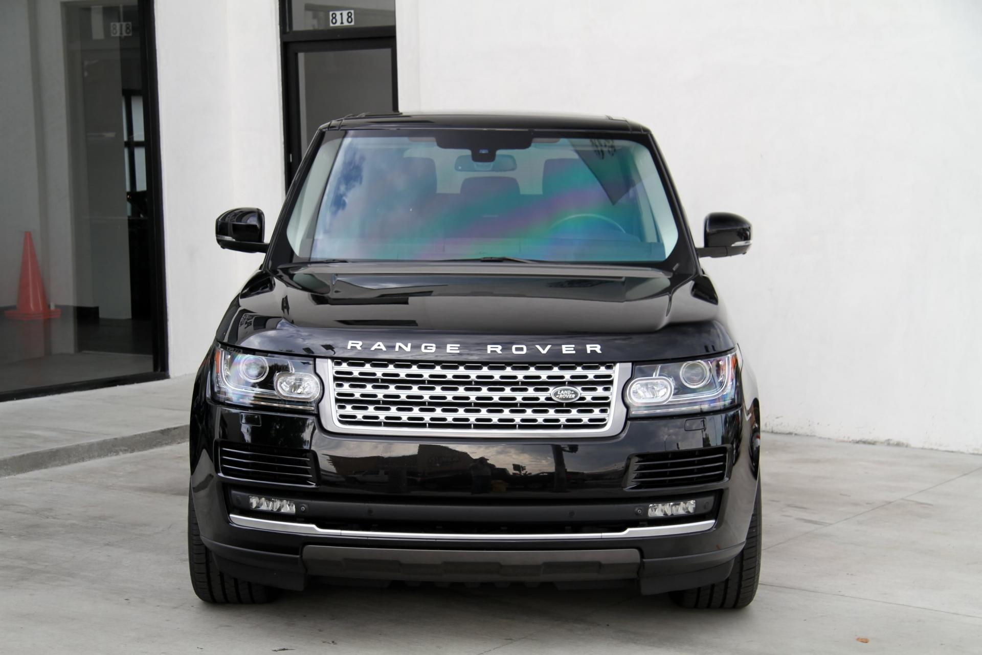 Used Range Rover For Sale Near Me >> 2015 Land Rover Range Rover Supercharged ** LONG WHEEL ...