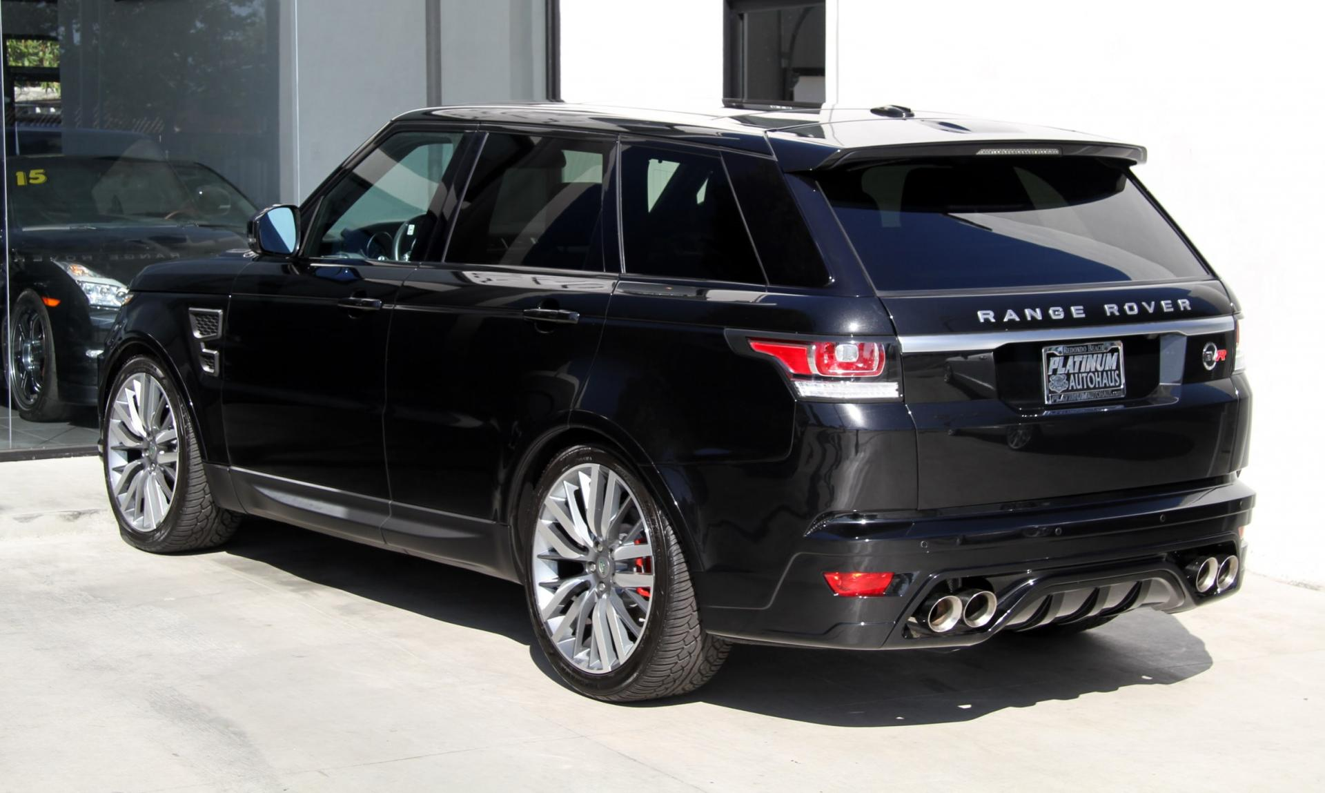2014 land rover range rover sport svr aero package stock 5949 for sale near redondo. Black Bedroom Furniture Sets. Home Design Ideas