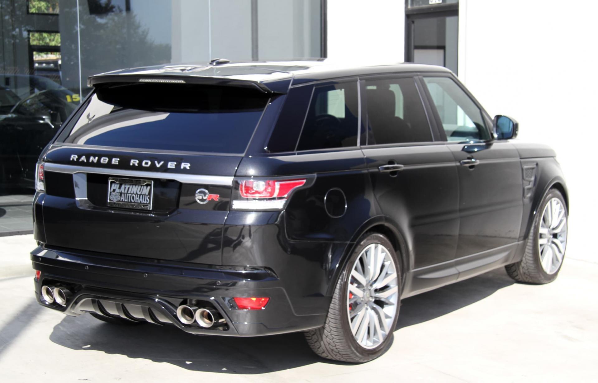2014 Land Rover Range Rover Sport Svr Aero Package
