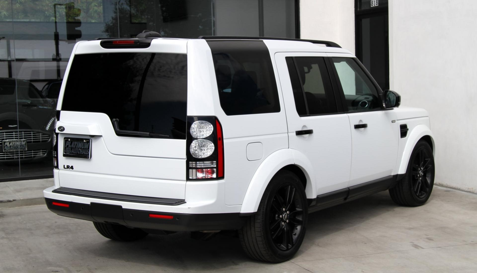 2014 land rover lr4 hse black design package stock 5988 for sale near redondo beach ca - Land rover garage near me ...