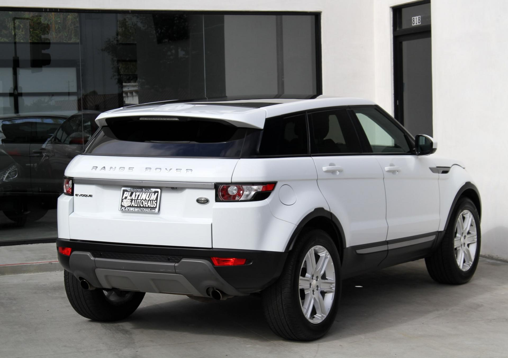 2014 land rover range rover evoque pure plus stock 5881 for sale near redondo beach ca ca - Land rover garage near me ...