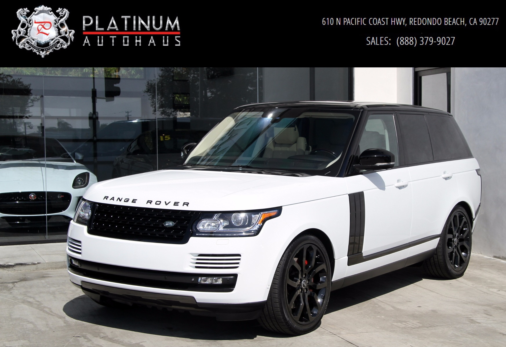 2014 land rover range rover supercharged stock 196900 for General motors dealers near me