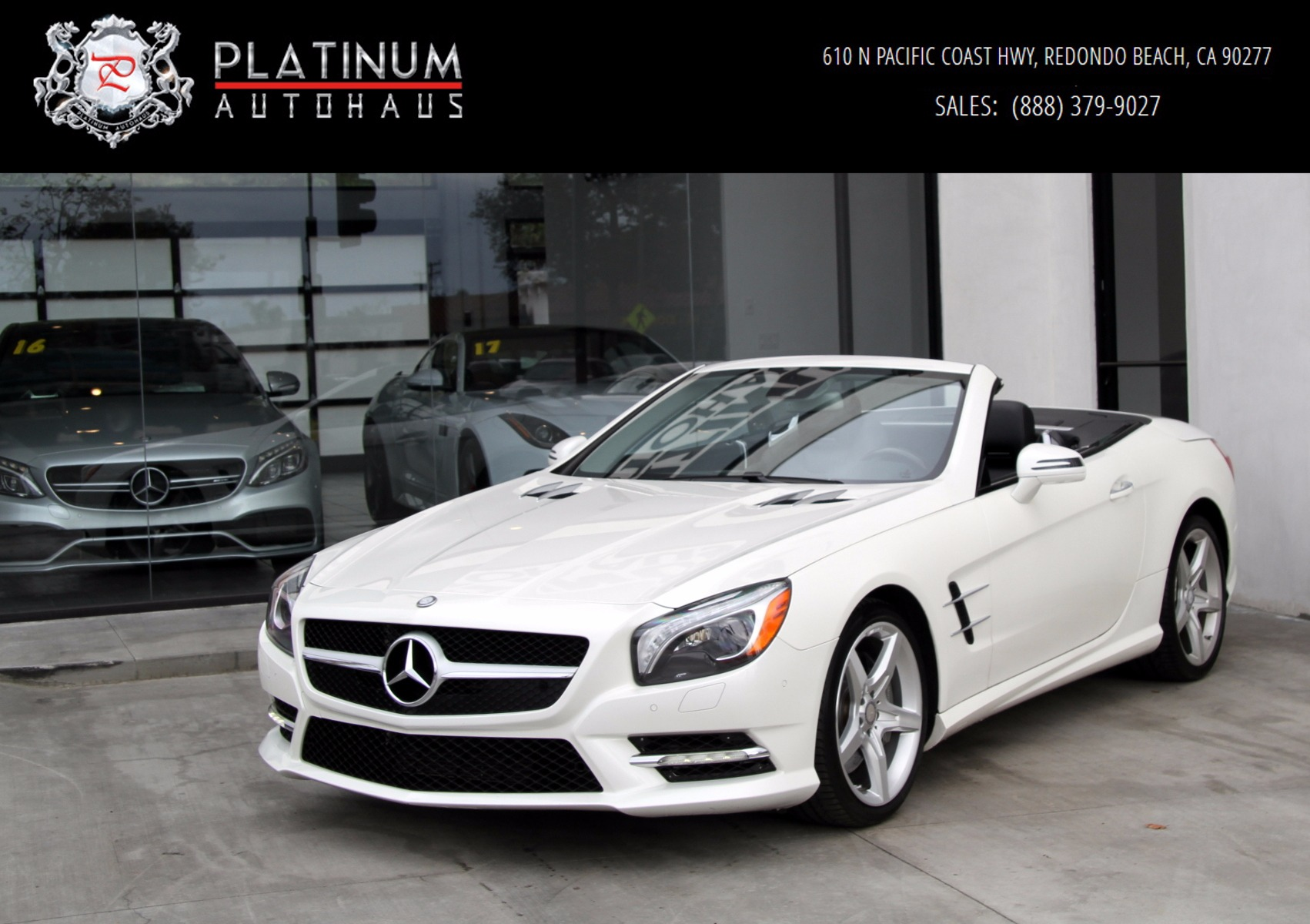 2013 mercedes benz sl550 amg sport package stock 6026