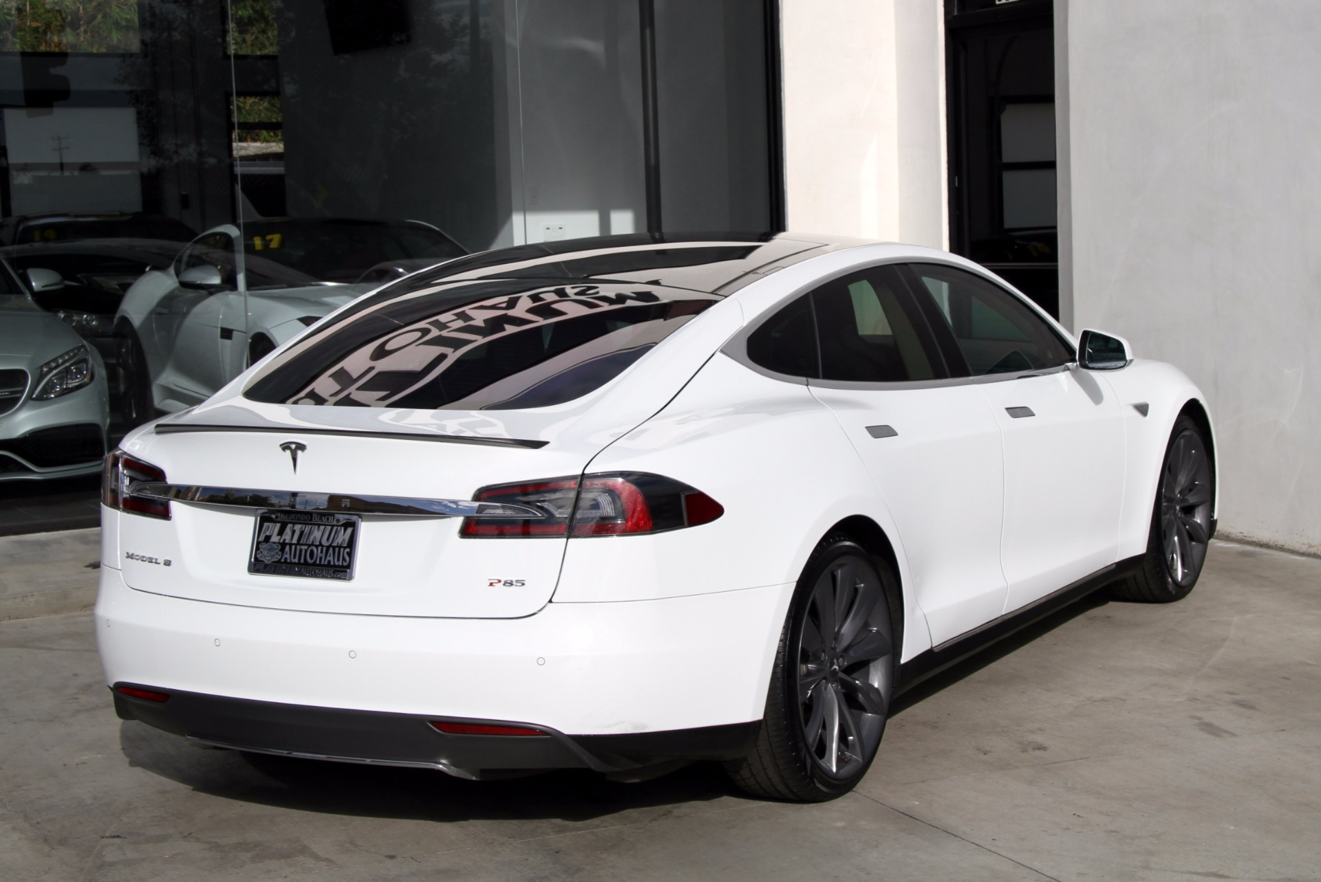2013 Tesla Model S Performance P85 Msrp 119 620 Stock