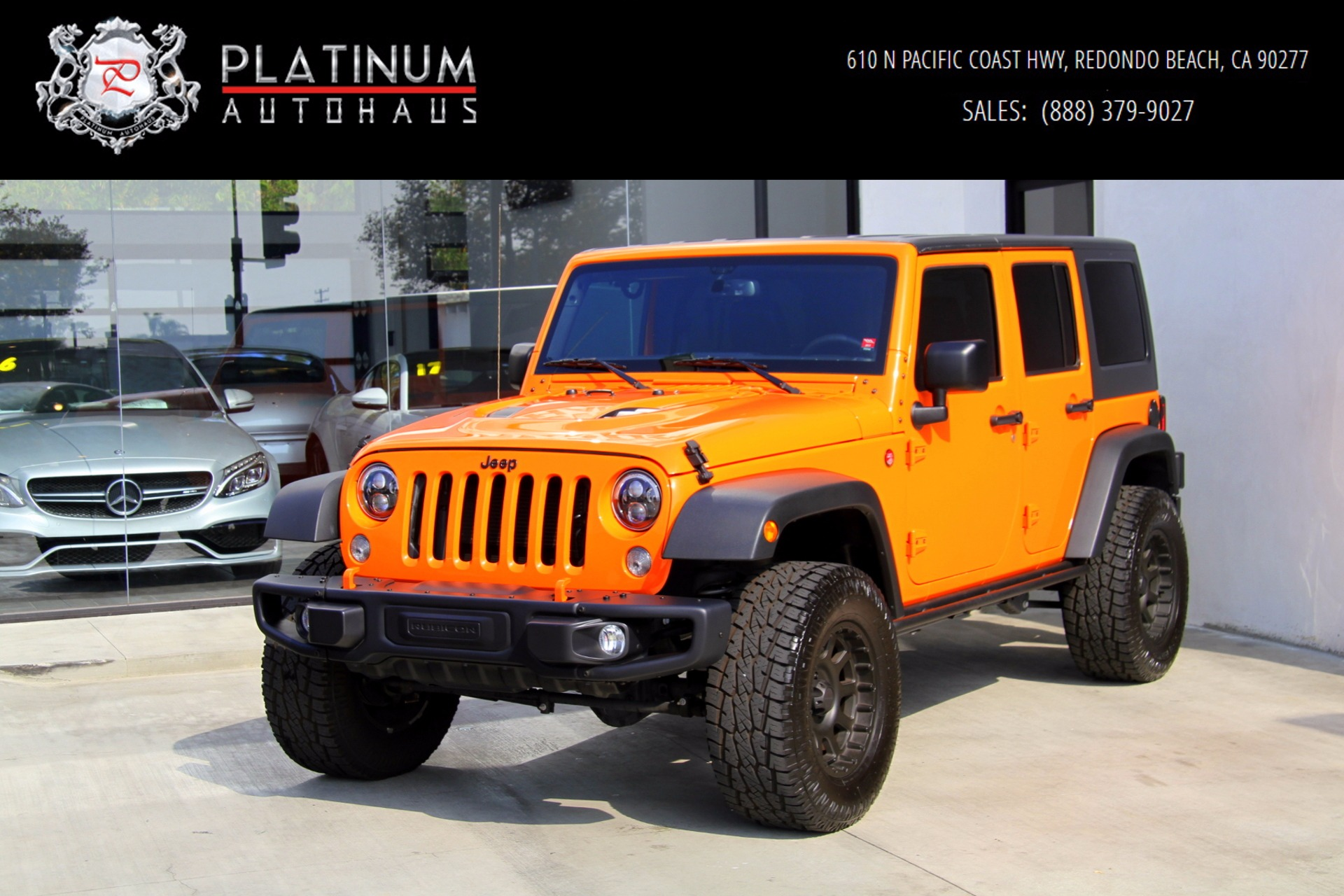 2016 Jeep Wrangler Unlimited Rubicon 4x4 Stock for sale