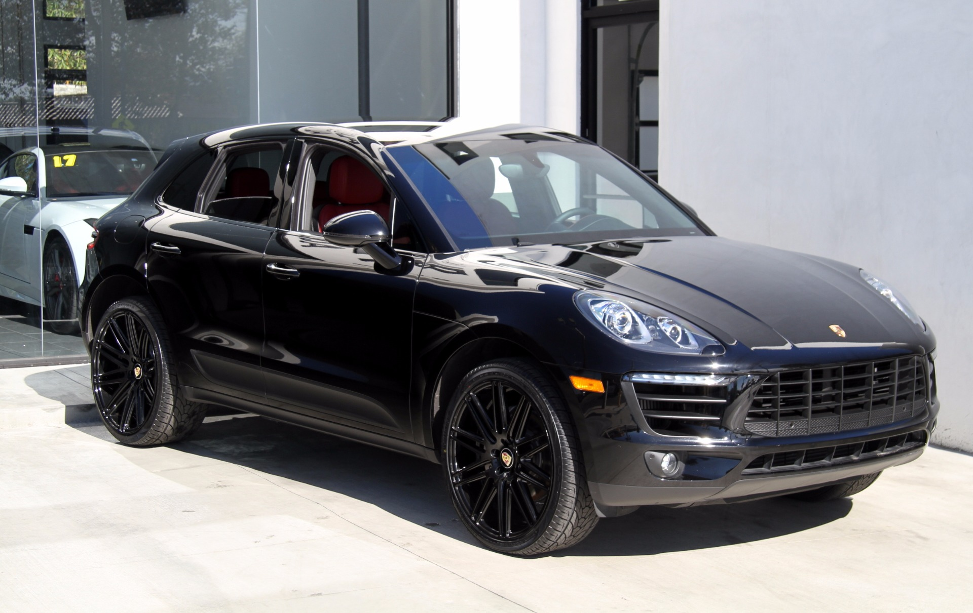 2016 porsche macan s stock 6031 for sale near redondo beach ca ca porsche dealer. Black Bedroom Furniture Sets. Home Design Ideas