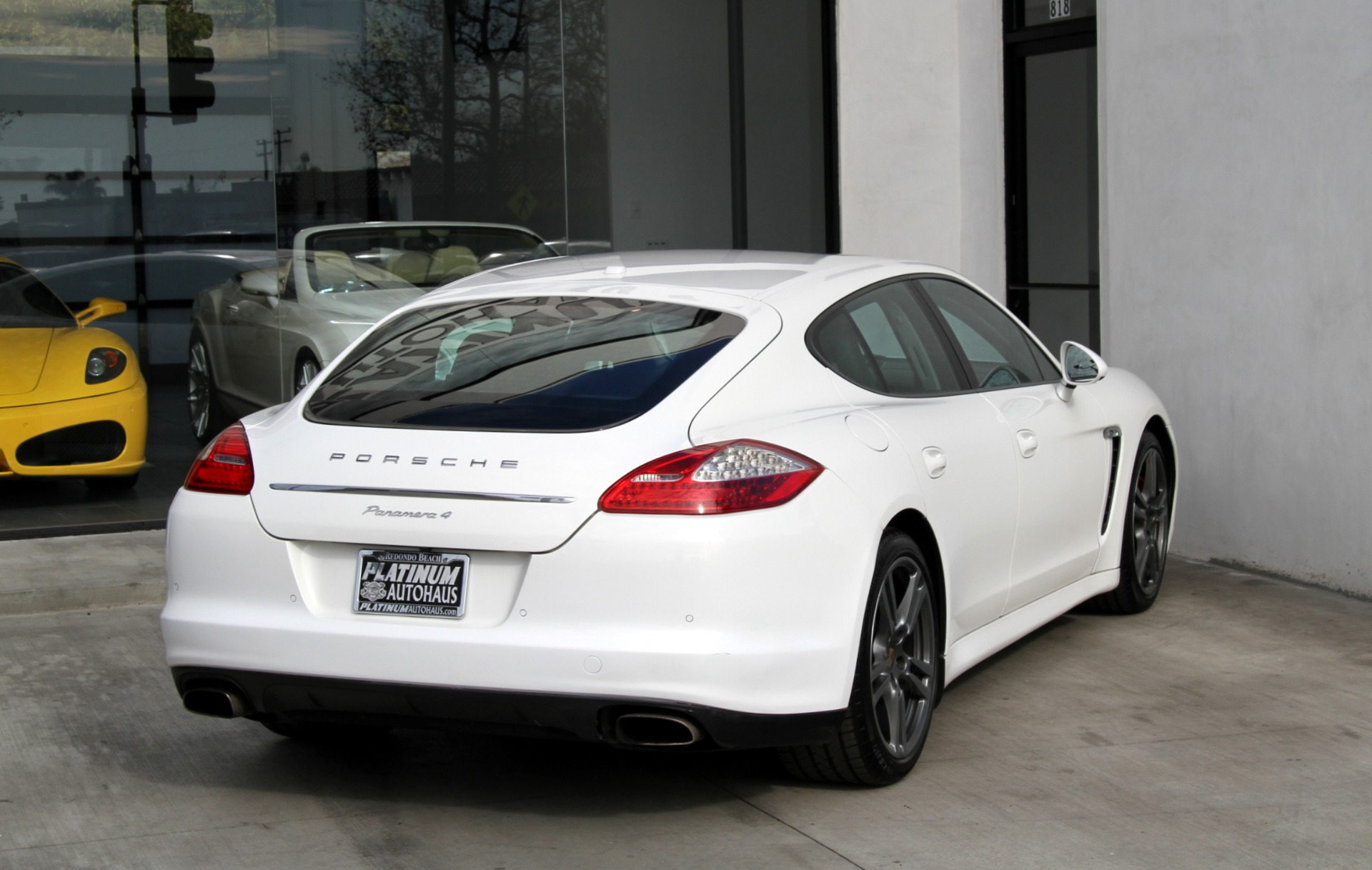 2012 Porsche Panamera 4 1 Owner Stock 6034 For