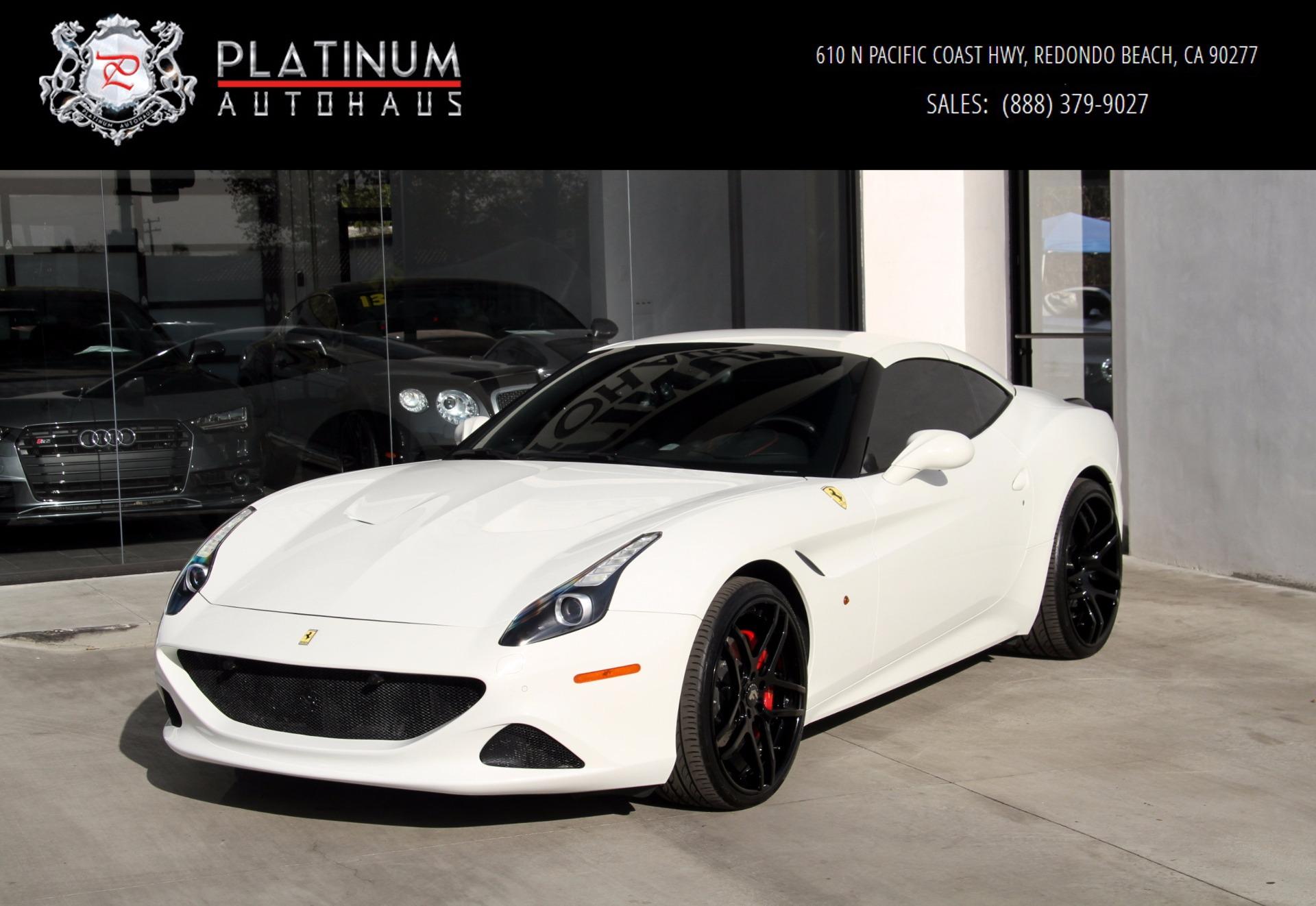 2015 Ferrari California T Stock 206220 For Sale Near Redondo Beach Ca Ca Ferrari Dealer