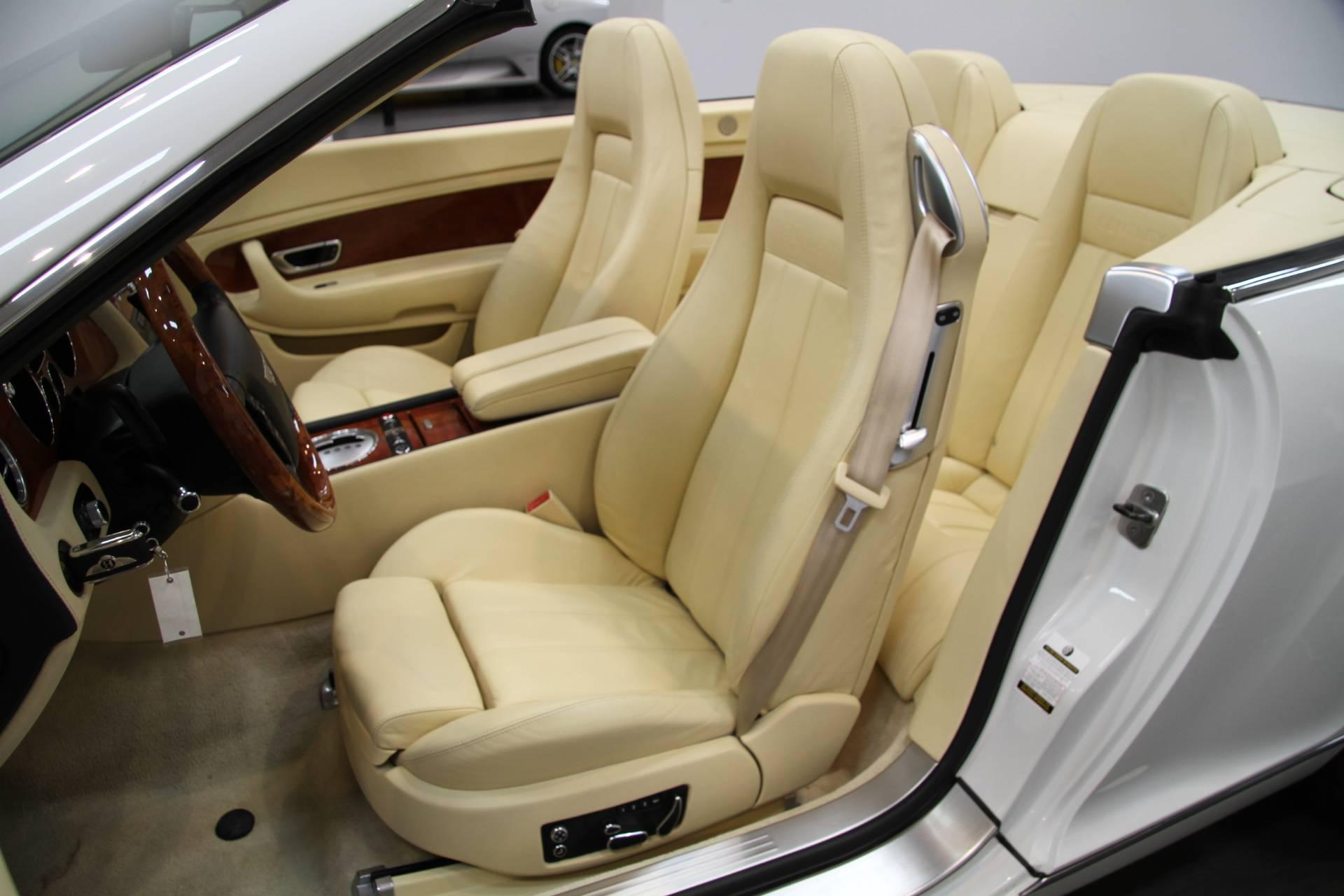 2007 Bentley Continental Gtc Magnolia Interior Stock