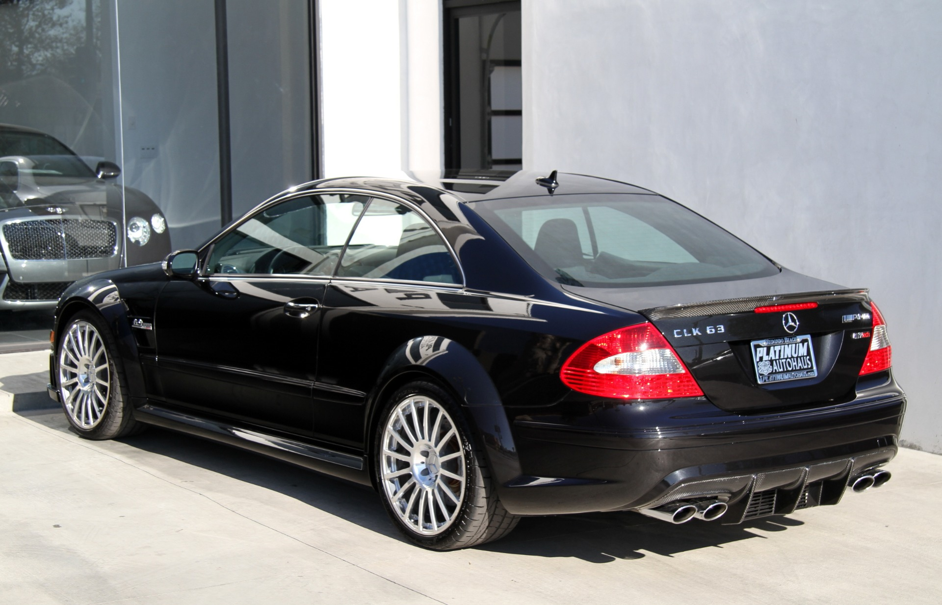 Free Vehicle History Report By Vin >> 2008 Mercedes-Benz CLK 63 AMG Black Series Stock # 6069 ...