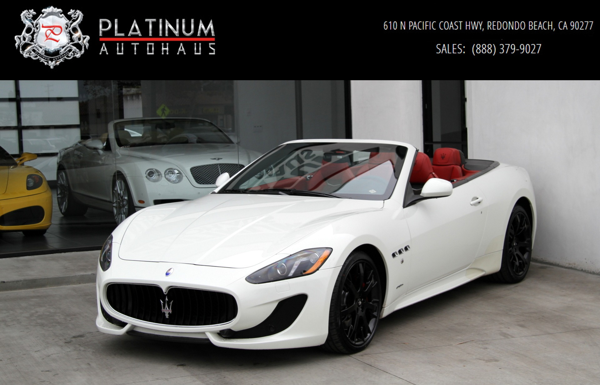 2014 Maserati GranTurismo Sport Stock # 6130 for sale near ...