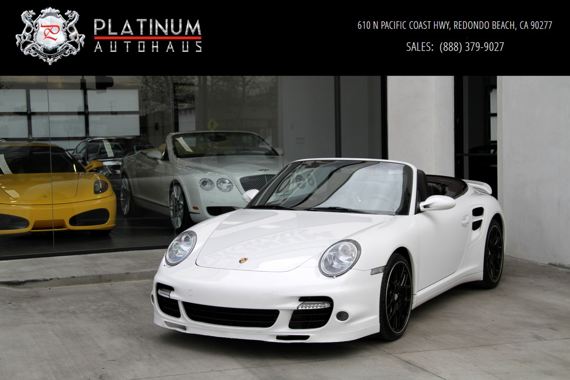 2008 porsche 911 turbo stock 788411 for sale near redondo beach ca ca porsche dealer. Black Bedroom Furniture Sets. Home Design Ideas