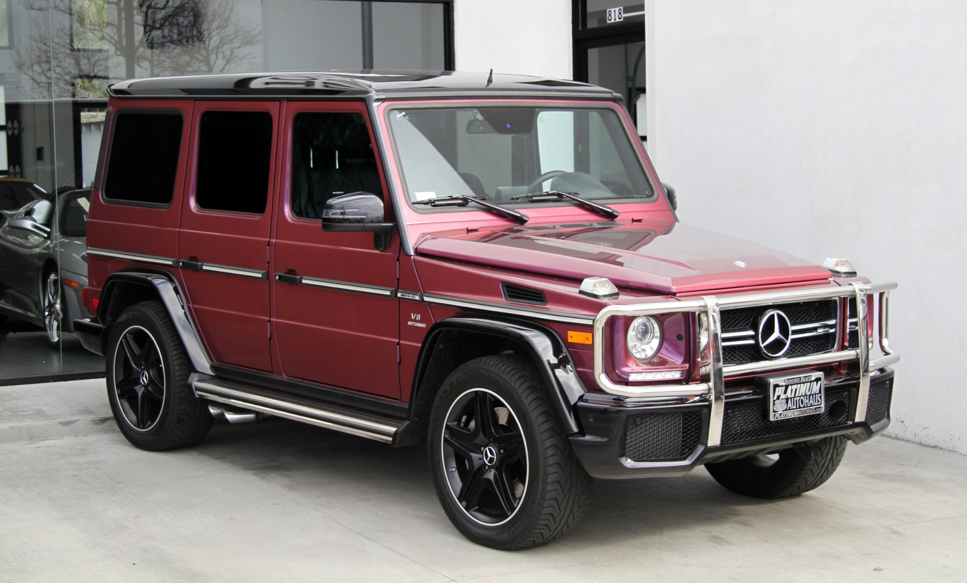 2015 mercedes benz g class g 63 amg amg studio package stock 6091 for sale near redondo. Black Bedroom Furniture Sets. Home Design Ideas