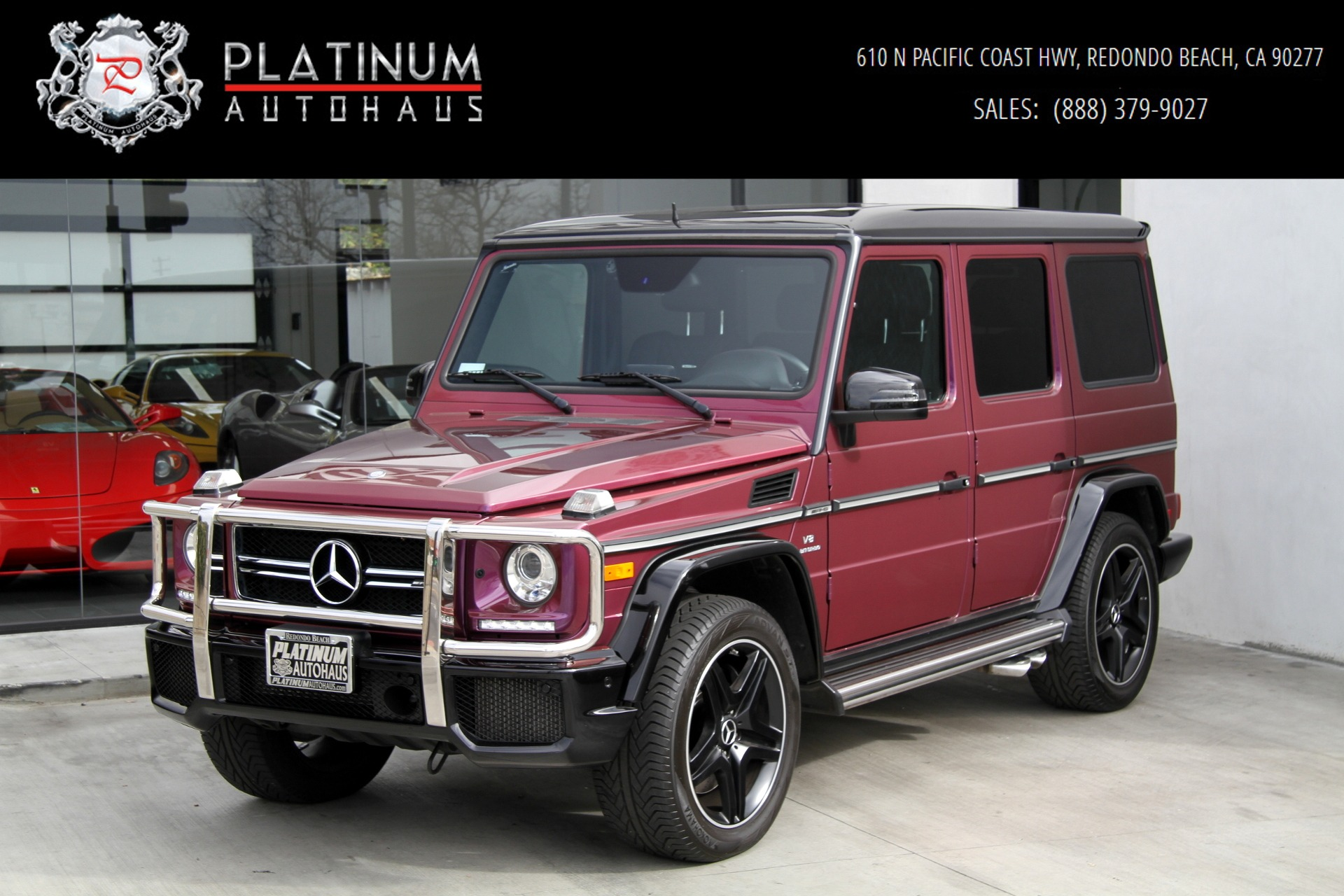2015 Mercedes Benz G Class G 63 AMG AMG STUDIO PACKAGE Stock