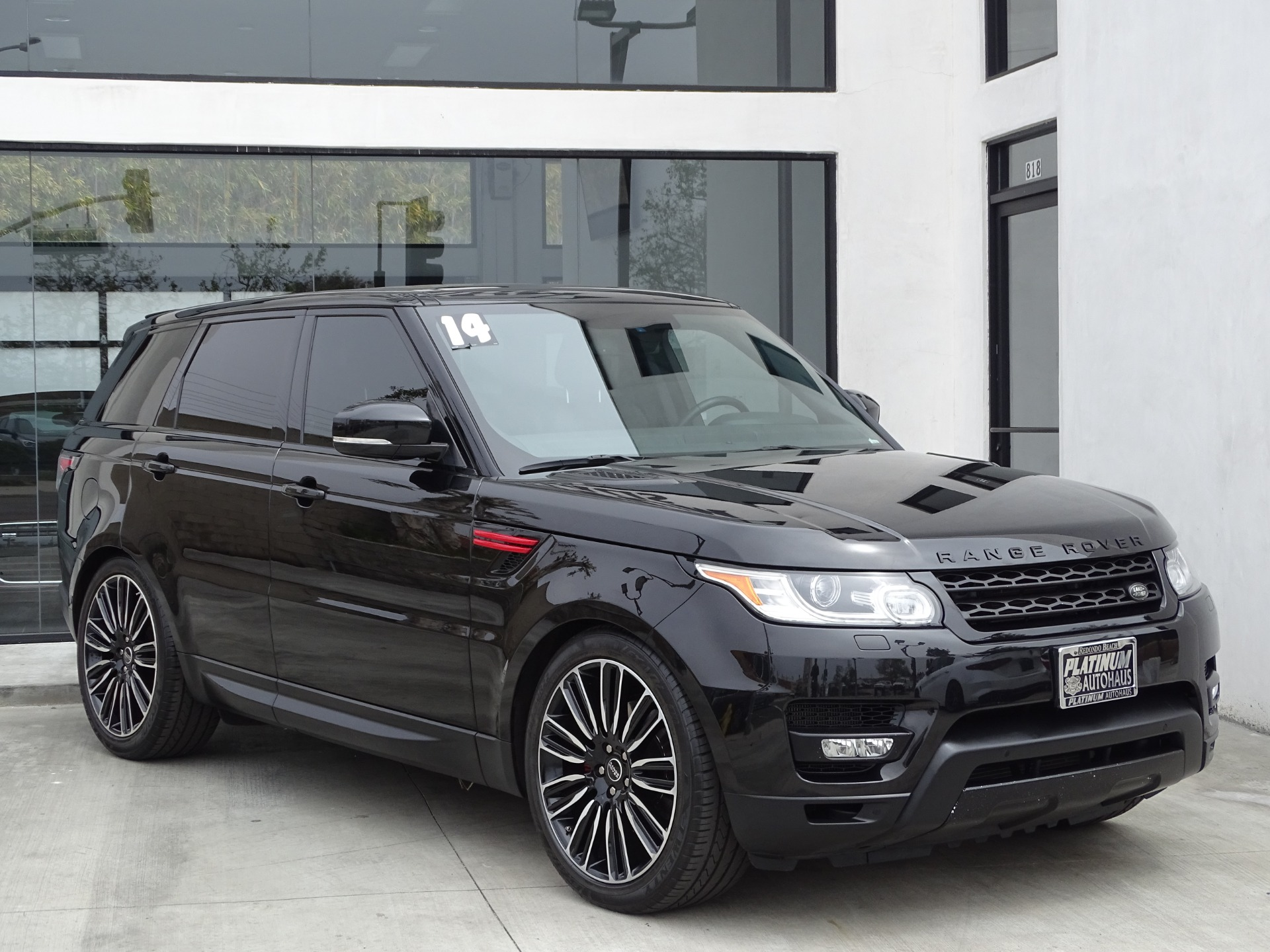 2014 land rover range rover sport hse stock 6093 for. Black Bedroom Furniture Sets. Home Design Ideas