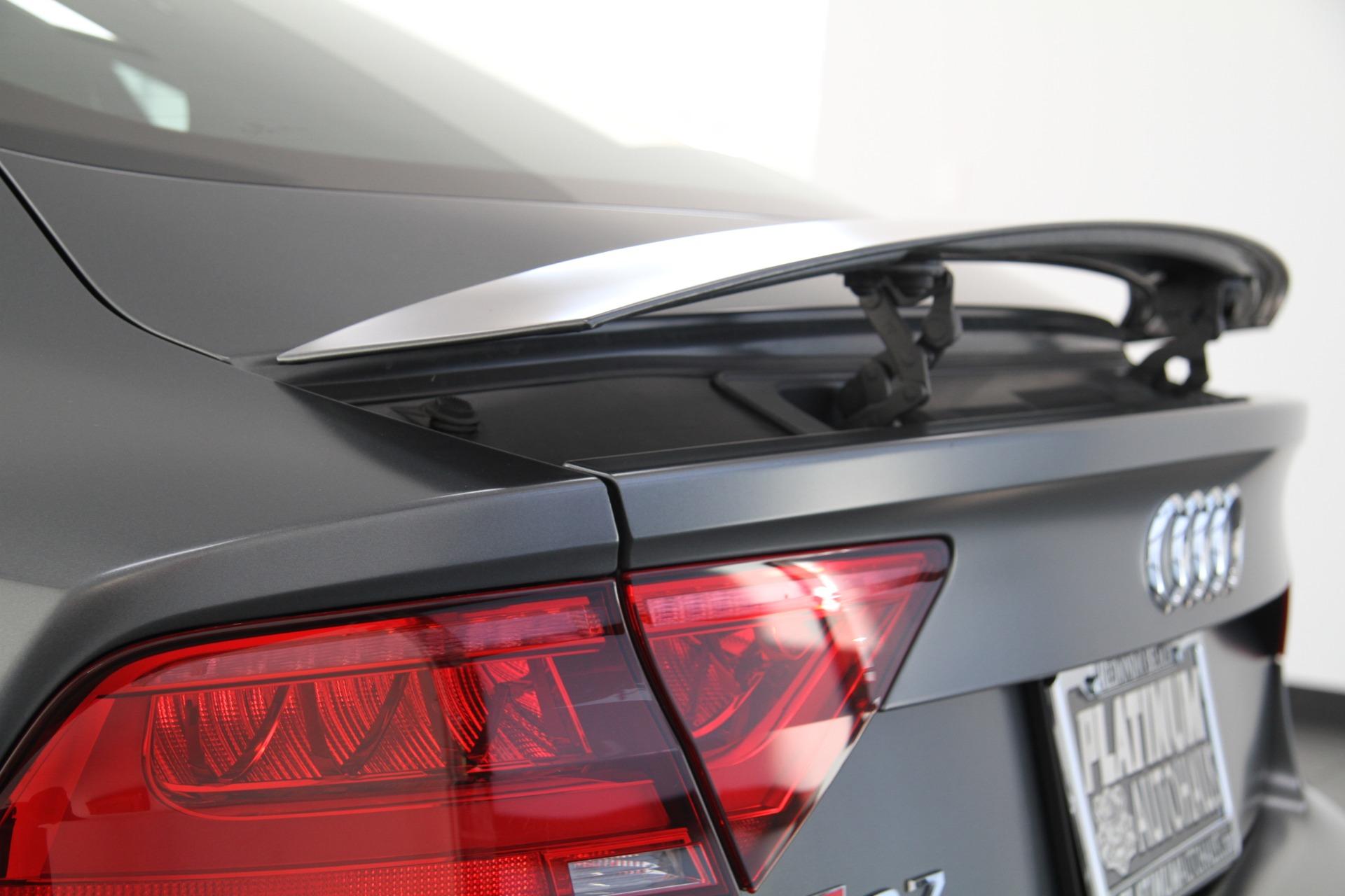 2015 Audi Rs 7 4 0t Prestige Factory Matte Paint