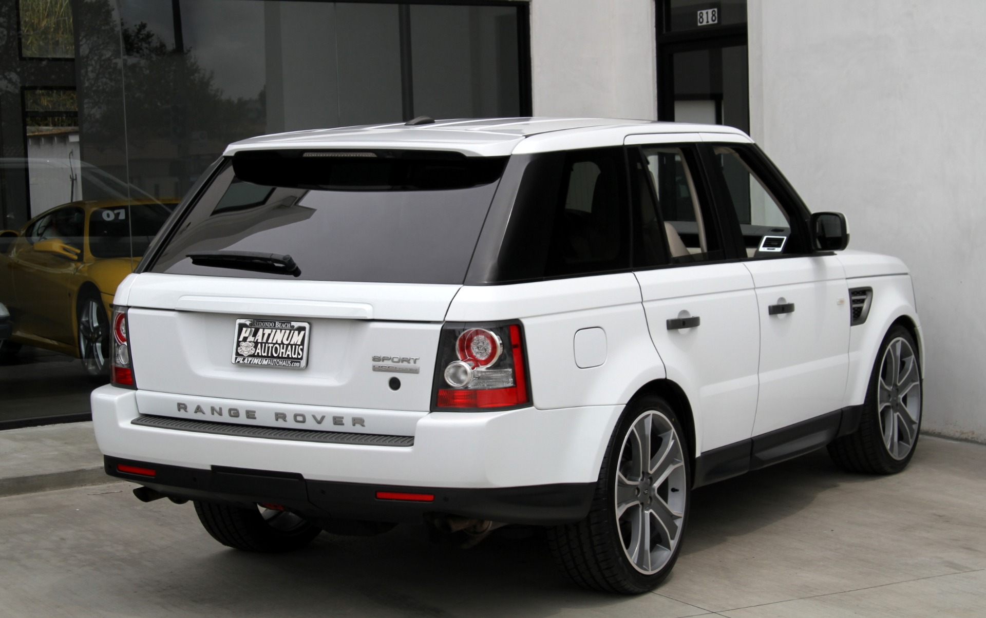2011 land rover range rover sport hse luxury package stock 6076a for sale near redondo. Black Bedroom Furniture Sets. Home Design Ideas