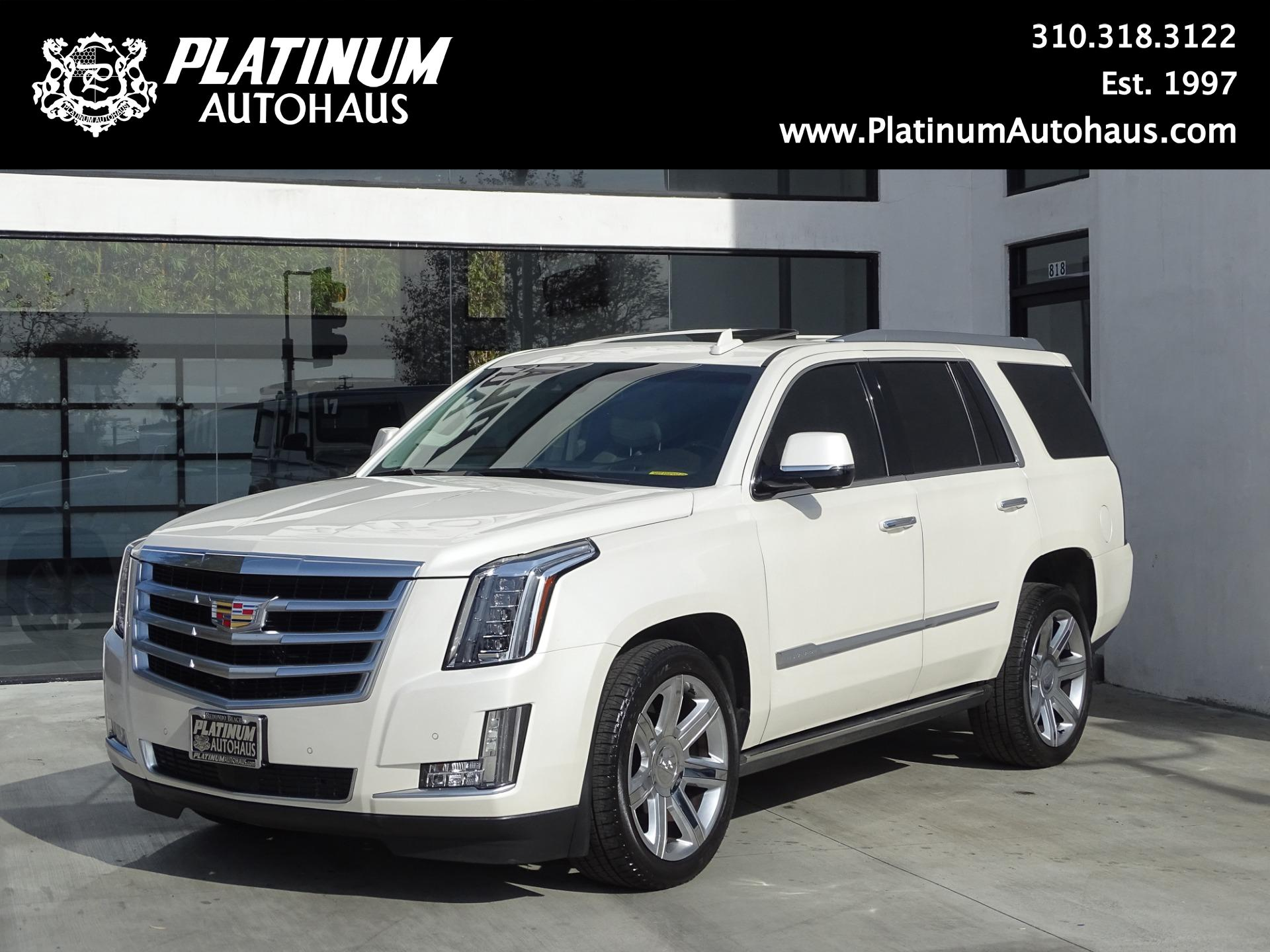 2015 cadillac escalade premium stock 6115 for sale near redondo beach ca ca cadillac dealer. Black Bedroom Furniture Sets. Home Design Ideas