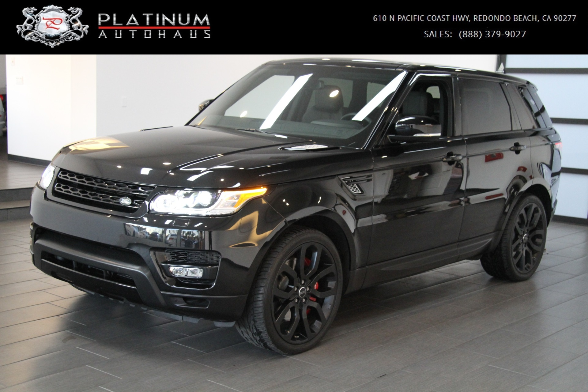 2014 land rover range rover sport supercharged stock 6114 for sale near redondo beach ca ca. Black Bedroom Furniture Sets. Home Design Ideas