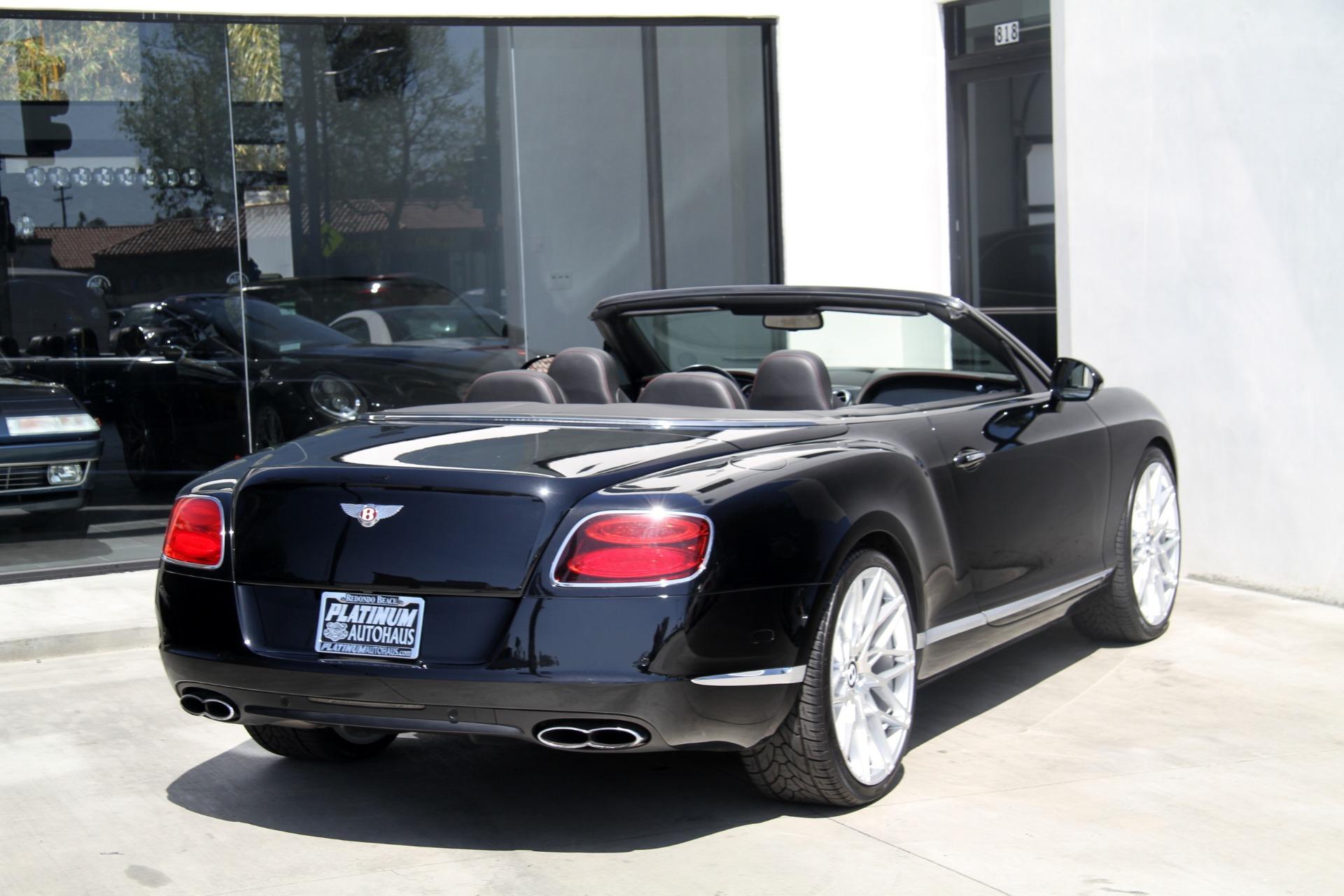2013 Bentley Continental GTC V8 Stock # 6131 for sale near Redondo ...