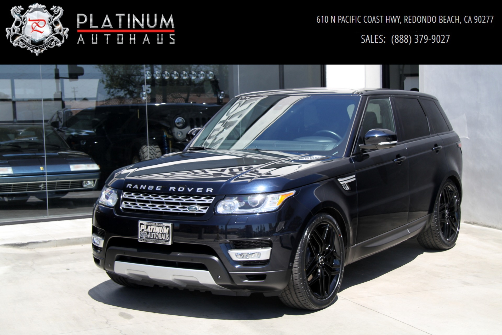 2014 land rover range rover sport supercharged stock 6126 for sale near redondo beach ca ca. Black Bedroom Furniture Sets. Home Design Ideas