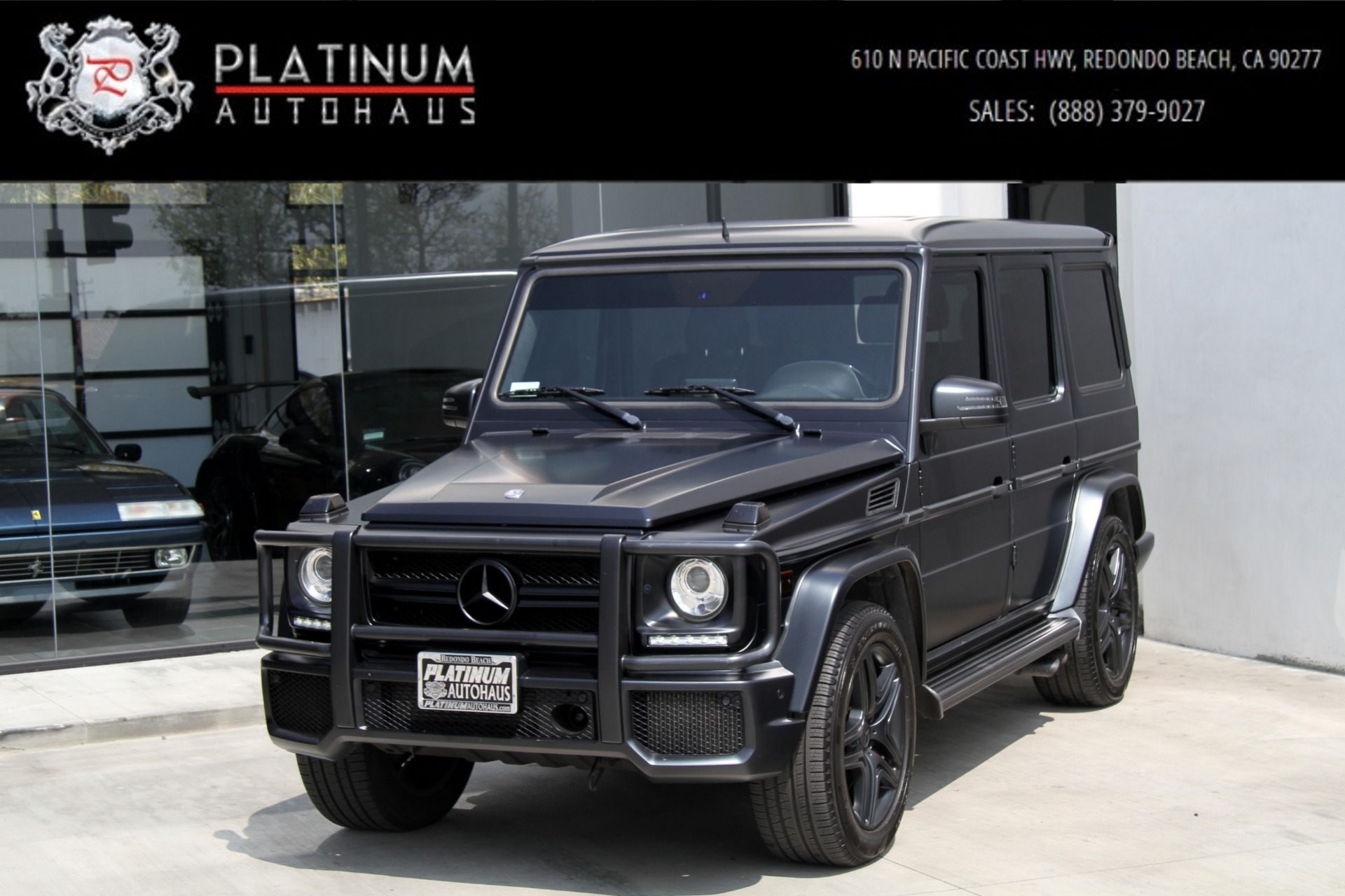 2014 mercedes benz g class g 63 amg factory matte paint stock 6134a for sale near. Black Bedroom Furniture Sets. Home Design Ideas