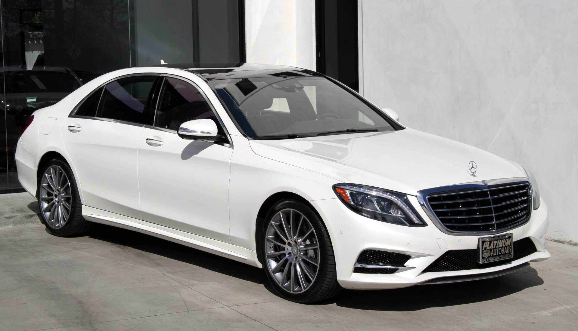 2015 Mercedes Benz S Class S 550 Amg Sport Package
