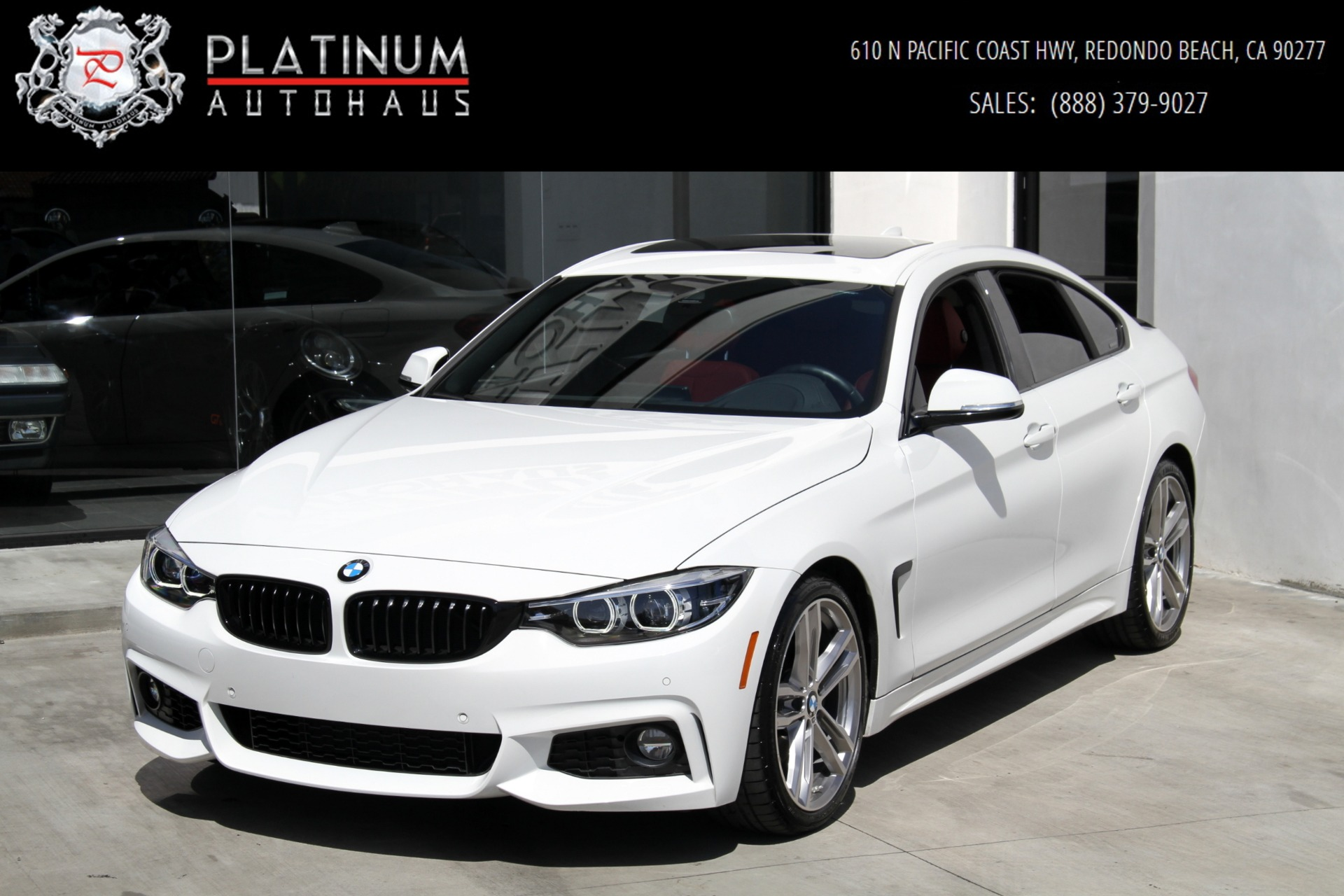 2018 Bmw 4 Series 440i Gran Coupe M Sport Package Stock