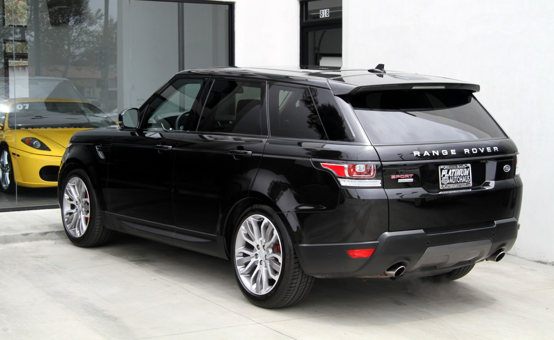 2016 land rover range rover sport supercharged dynamic stock 6184 for sale near redondo beach. Black Bedroom Furniture Sets. Home Design Ideas