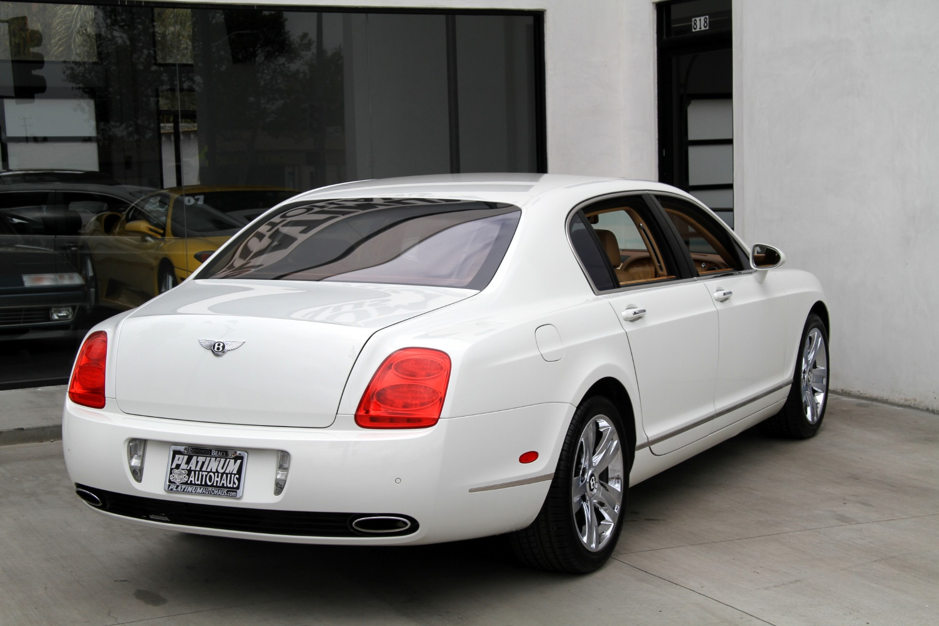 2007 bentley continental flying spur low miles stock 6123a for sale near redondo beach. Black Bedroom Furniture Sets. Home Design Ideas