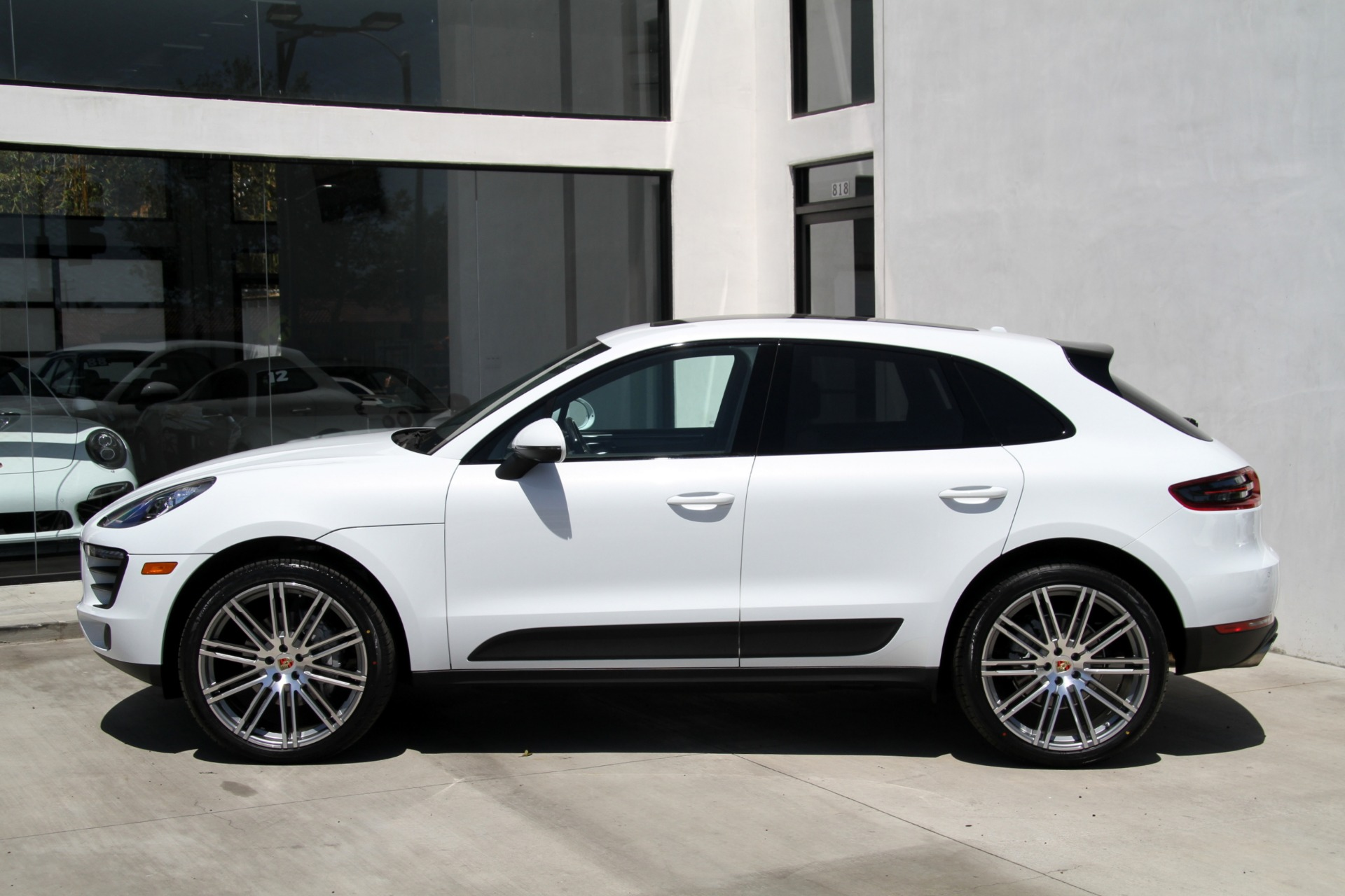 2017 porsche macan s stock 6192 for sale near redondo. Black Bedroom Furniture Sets. Home Design Ideas