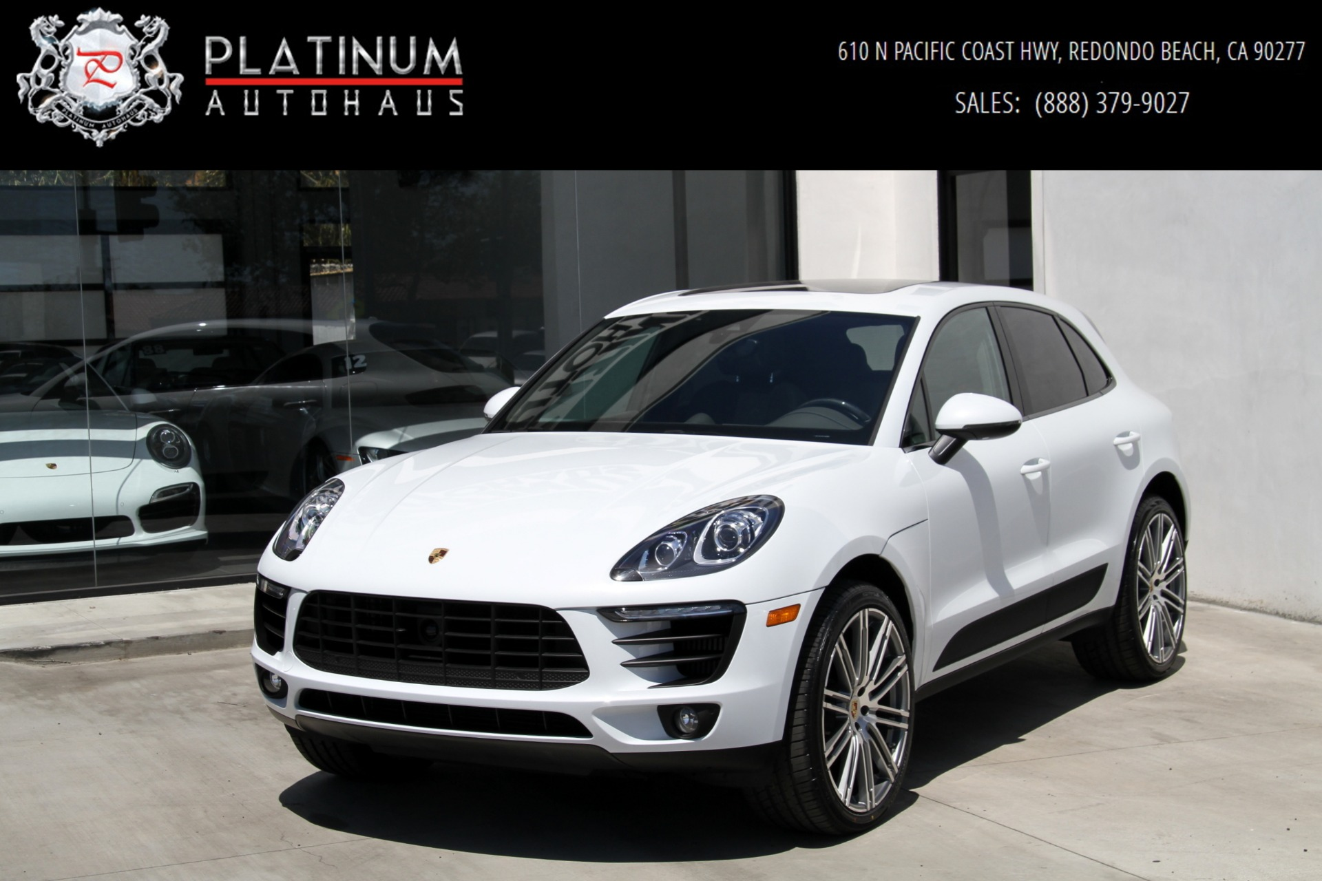 2017 Porsche Macan S Stock 6192 For Sale Near Redondo