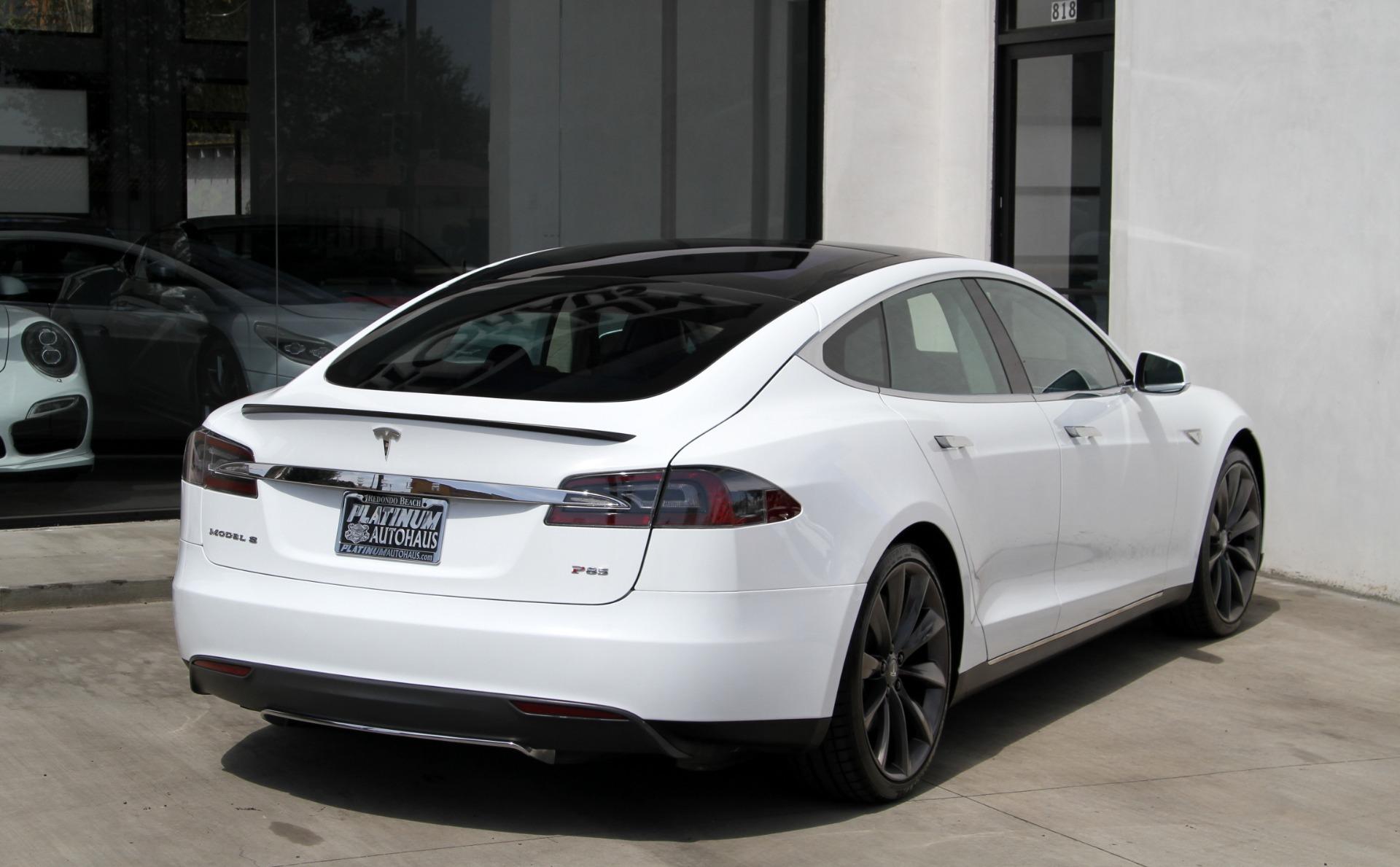 2013 Tesla Model S P85 Performance Stock 6214 For