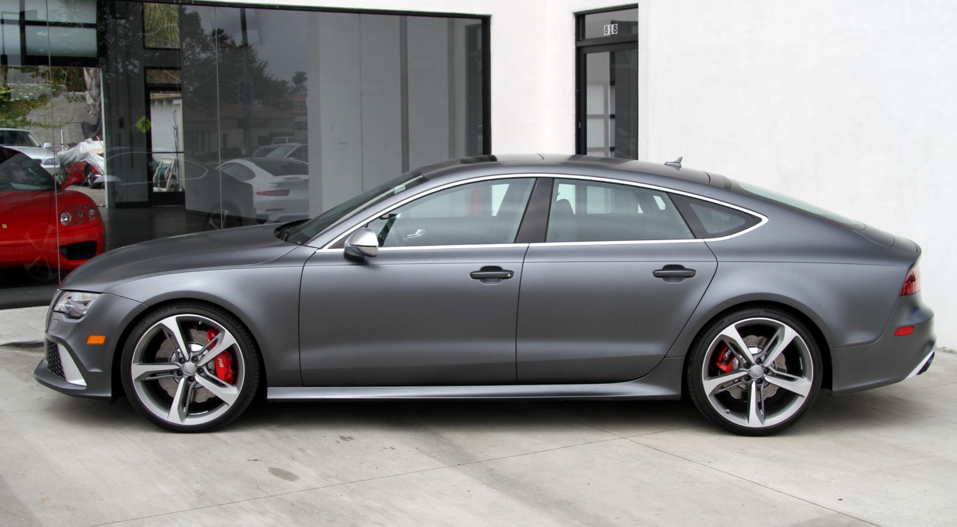 2014 Audi Rs 7 4 0t Prestige Factory Matte Paint Stock 6218 For Sale Near Redondo Beach Ca Ca Audi Dealer