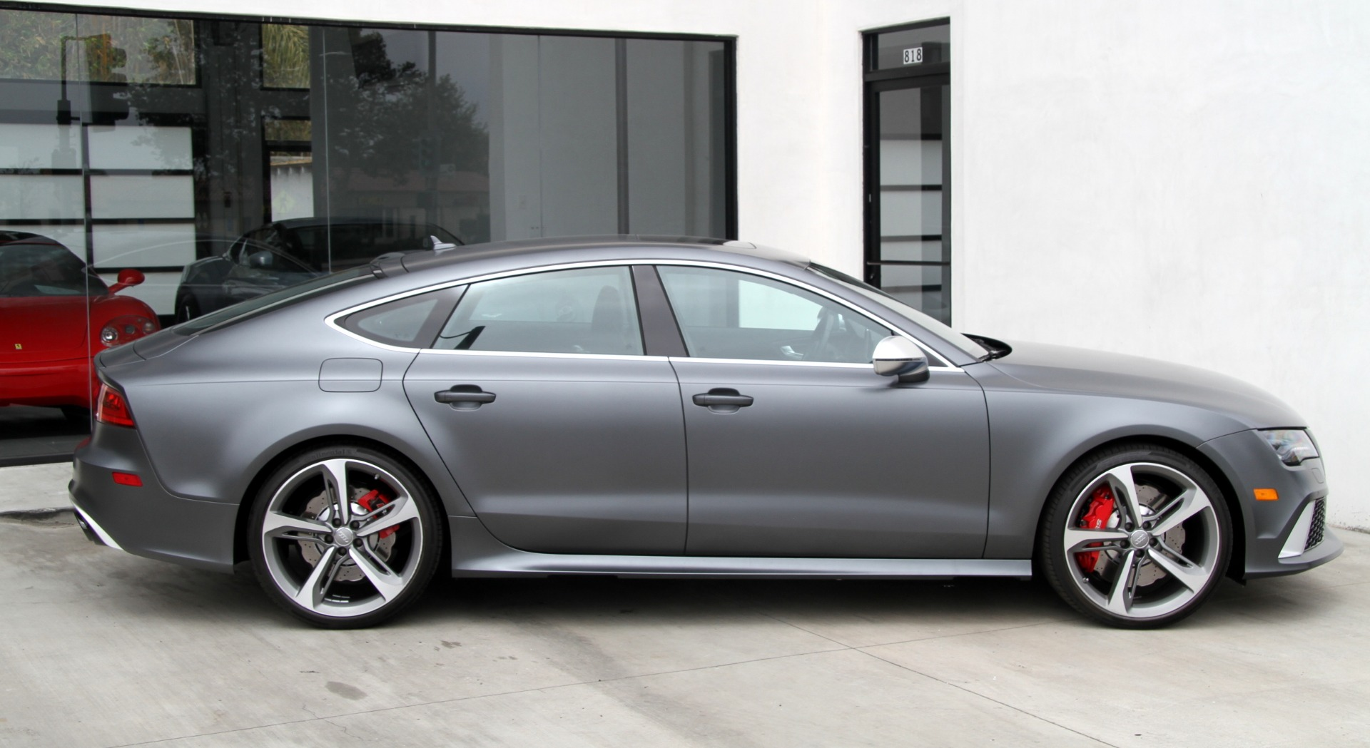 2014 Audi Rs 7 4 0t Prestige Factory Matte Paint