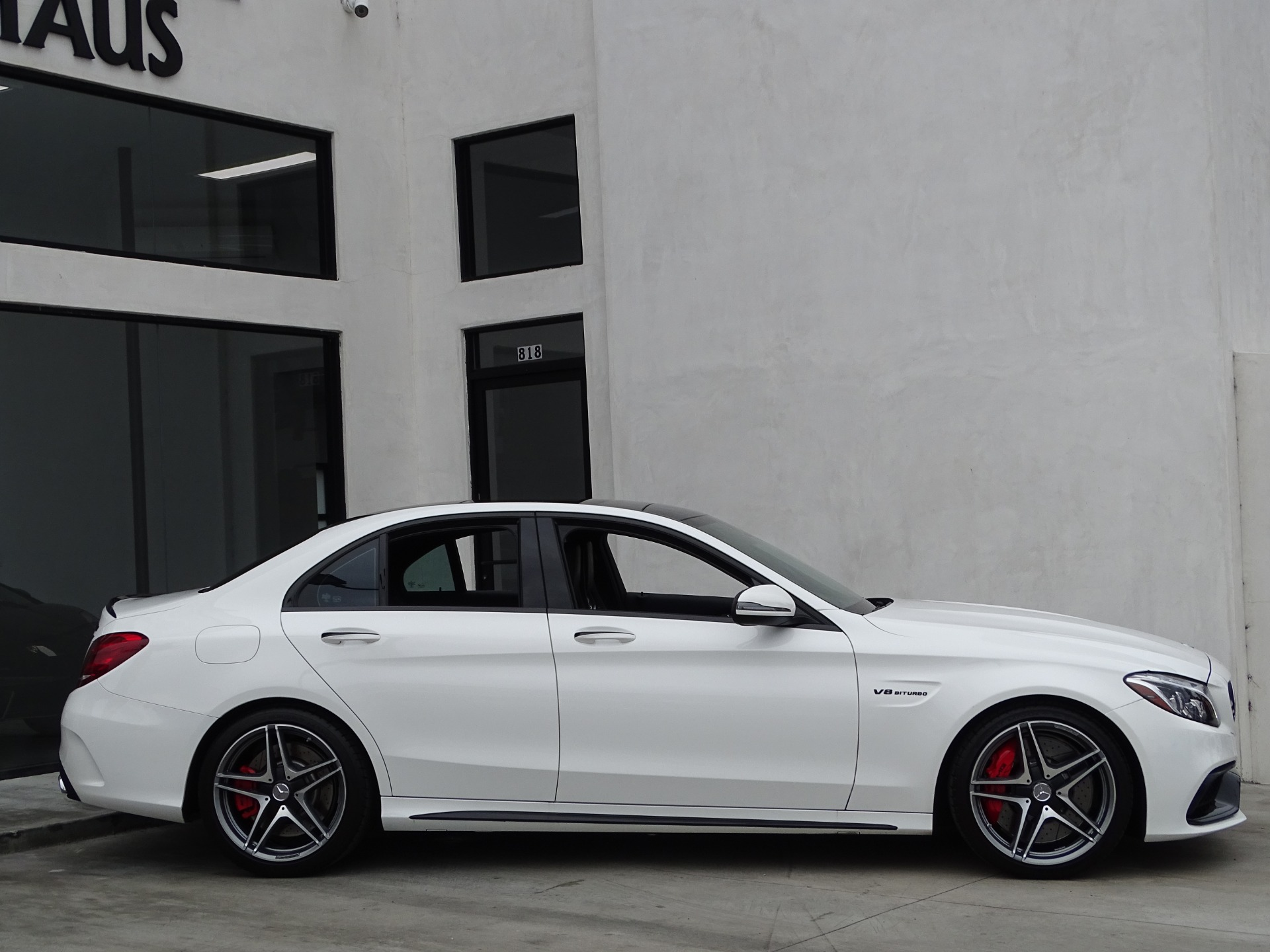 Used-2016-Mercedes-Benz-C-Class-AMG--C63-S-----**-Performance-Exhaust-**