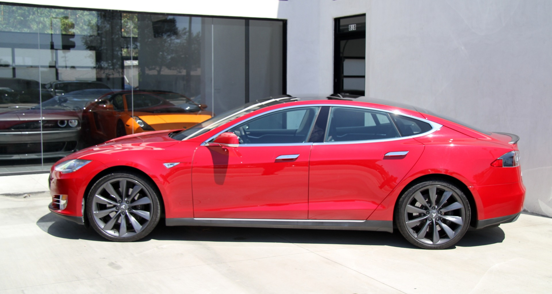 2013 tesla model s performance p85 stock 6277 for sale near redondo beach ca ca. Black Bedroom Furniture Sets. Home Design Ideas