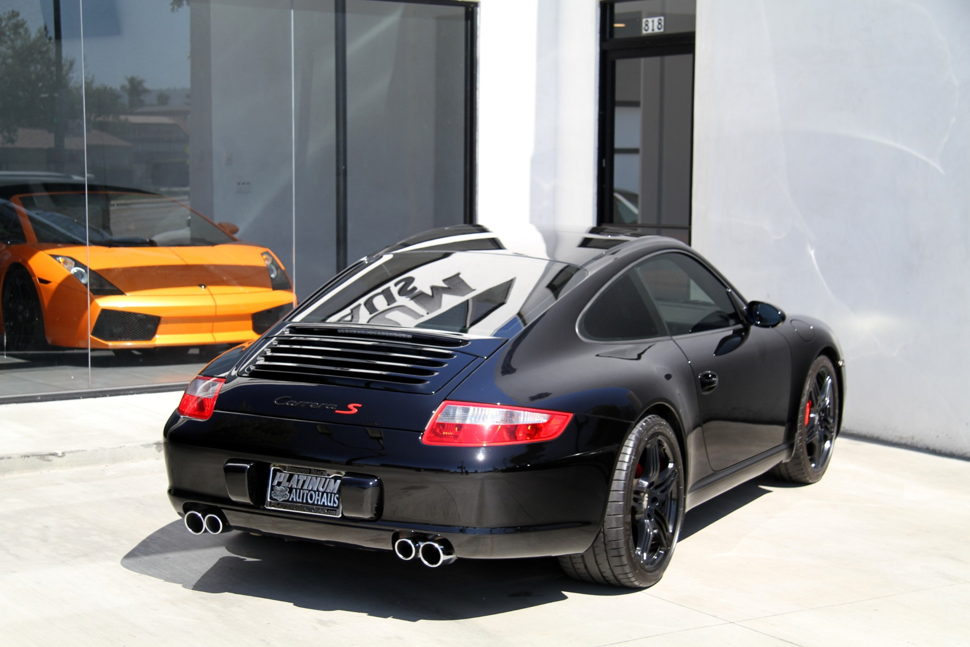 2007 Porsche 911 Carrera S Sport Exhaust Stock