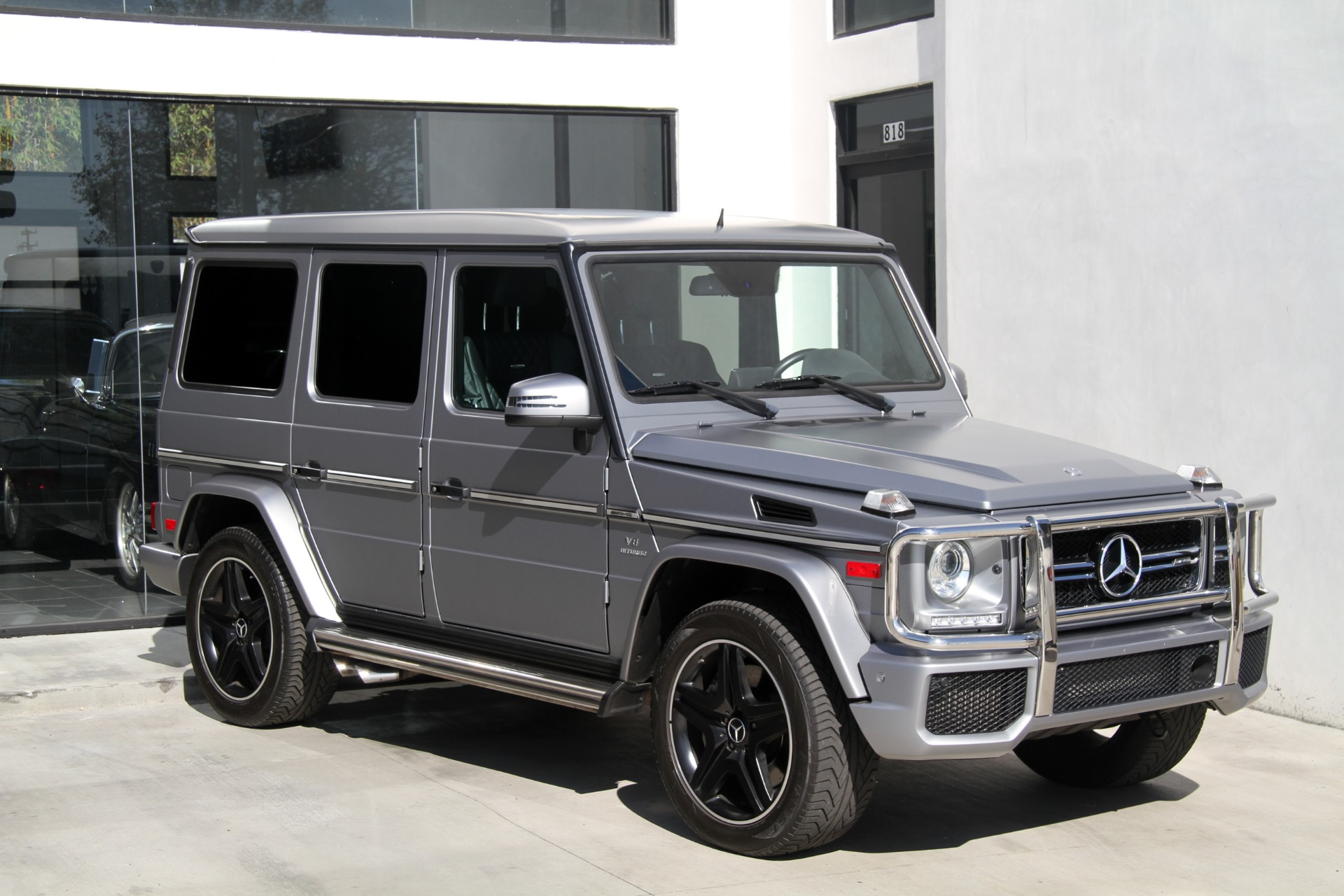 Used-2015-Mercedes-Benz-G-Class-G63-AMG--**-FACTORY-MATTE-PAINT-***