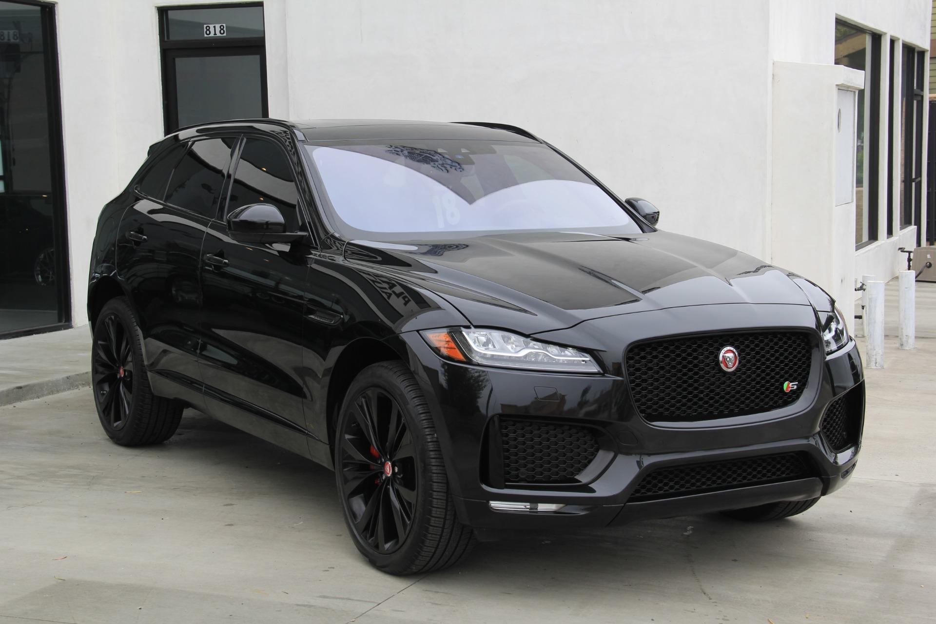 2018 Jaguar F Pace S Stock 6310 For Sale Near Redondo Beach Ca Ca Jaguar Dealer