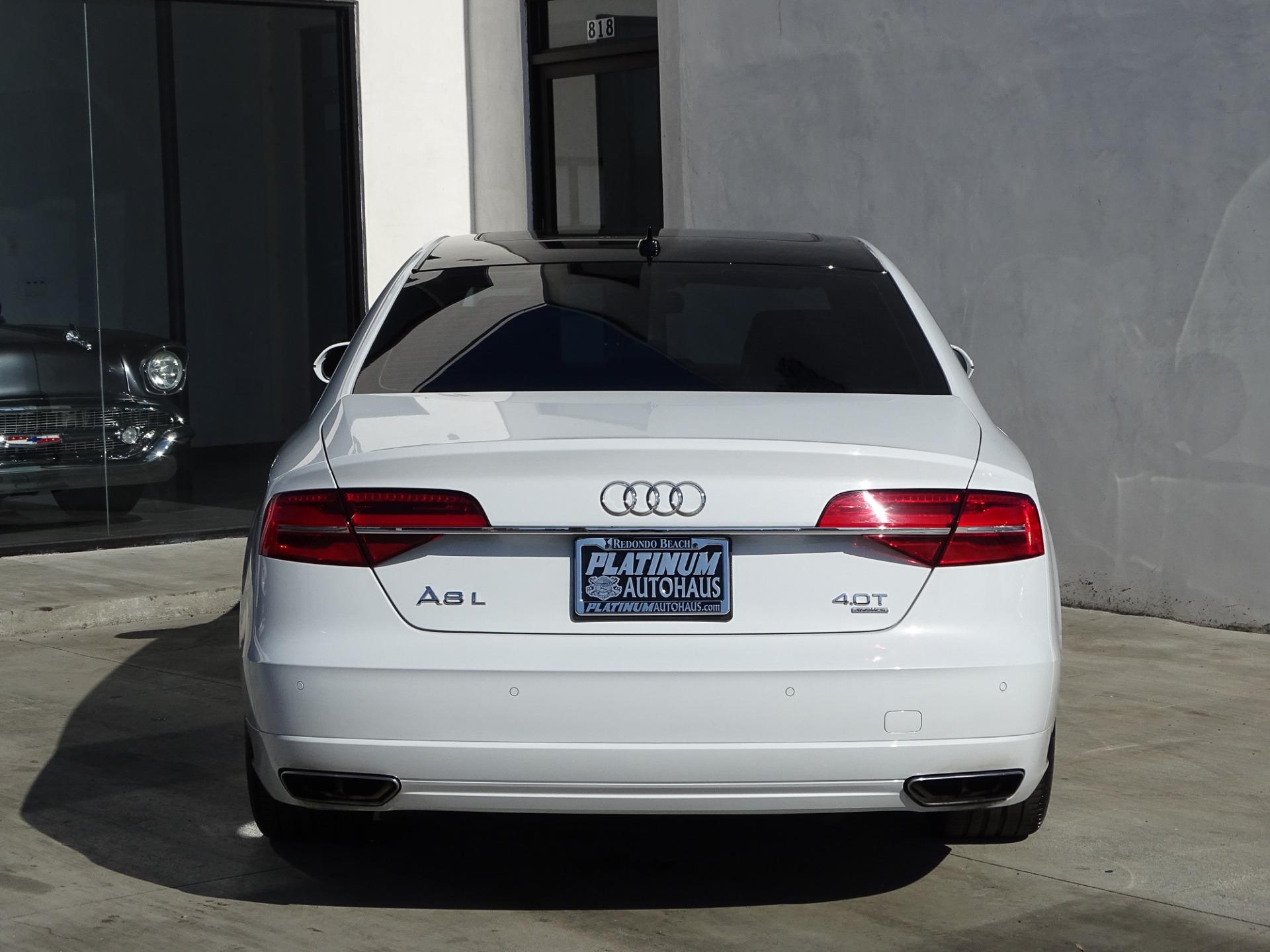 2016 Audi A8 L 4.0T quattro Sport Stock # 6331 for sale near Redondo Beach, CA | CA Audi Dealer