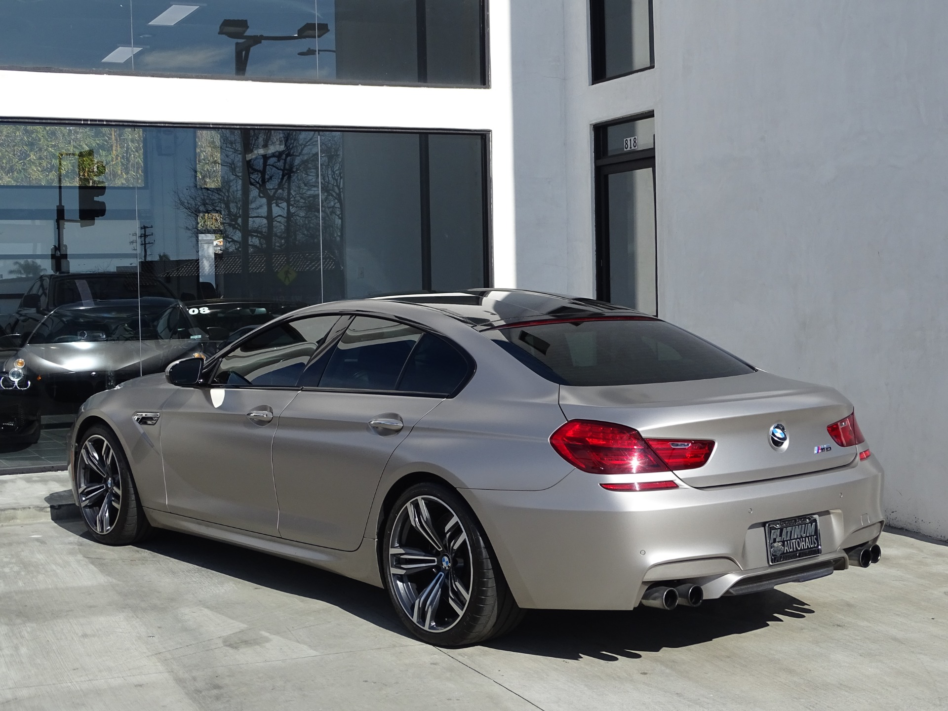 Used-2015-BMW-M6-Gran-Coupe---***-FACTORY-FROZEN-GRAY-***