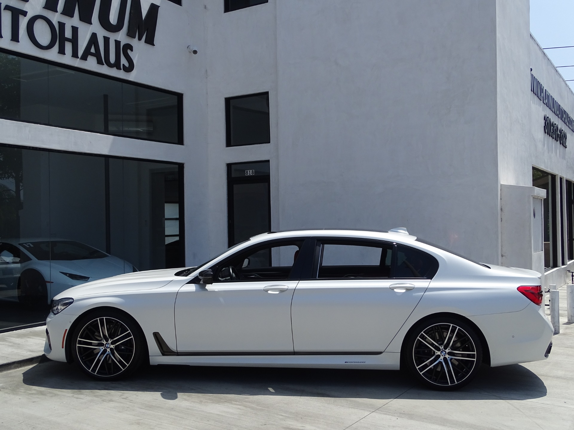2017 Bmw 7 Series 750i Stock 6607 For